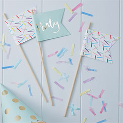 Pick & Mix Sprinkles Flags - 25cm