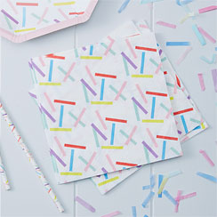 Pick & Mix Sprinkles Napkins - 3ply Paper