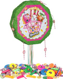 Shopkins Drum Pull Piñata Kit
