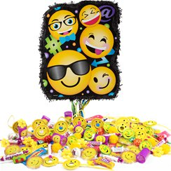 Smiley Pull Piñata Kit