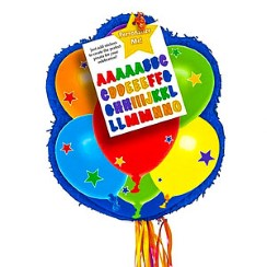 Balloon Design Personalisable Pull Piñata