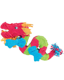 Chinese Dragon Piñata - 68cm long