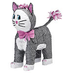 Grey Cat Piñata