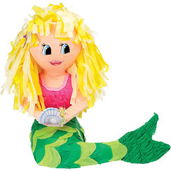 Mermaid Piñata - 43cm tall