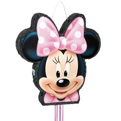 Minnie Mouse Bowtique Pull Piñata - 51cm tall