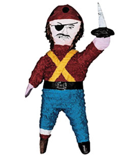 Pirate Piñata - 45cm tall