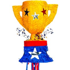 Trophy Pull Piñata