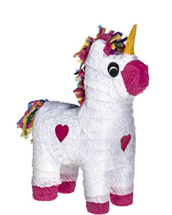 Unicorn Piñata - 45cm tall