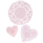 Pink n Mix Paper Doilies