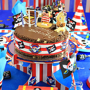 Easy Pirate Cake