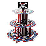 Pirate Cupcake Stand - 3 Tier