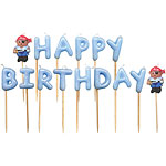 Pirate Happy Birthday Pick Candles