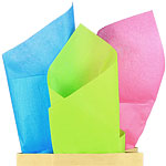 Bright Mix Tissue Paper - 50cm