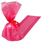 Bright Pink Cellophane Party Bags