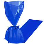 Royal Blue Cellophane Party Bags