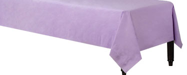 Lilac Tablecover - 3ply Paper - 1.4m x 2.8m