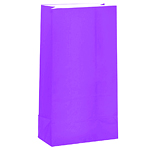 New Purple Party Bags - Paper 25cm