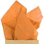 Orange Tissue Paper - 50cm