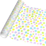 Pastel Print Cellophane Gift Wrap