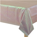 Pink Dazzling Paper Tablecover - 1.3m x 2.7m