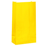 Sunshine Yellow Party Bags - Paper 25cm