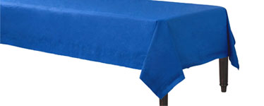 Royal Blue Tablecover - 3ply Paper - 1.4m x 2.8m