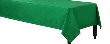 Green Tablecover - 3ply Paper - 1.4m x 2.8m