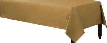 Gold Tablecover - 3ply Paper - 1.4m x 2.8m
