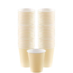 Ivory Coffee Cups - 340ml Paper Cups