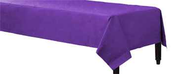 Purple Tablecover - 3ply Paper - 1.4m x 2.8m