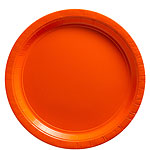 Orange Plates - 23cm Paper Party Plates