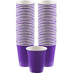 Purple Coffee Cups - 340ml Paper Cups