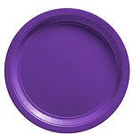 Purple Plates - 23cm Paper Party Plates
