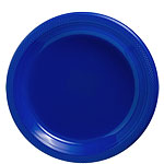 Royal Blue Plates - 23cm Plastic Party Plates