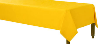 Yellow Tablecover - Paper 1.4m x 2.8m