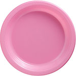 Baby Pink Serving Plates - 26cm Plastic
