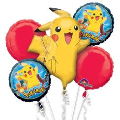 Pokémon Balloon Bouquet - Assorted Foil
