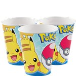 Pokémon Cups - 266ml Paper Party Cups