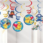 Pokémon Hanging Swirls Decorations