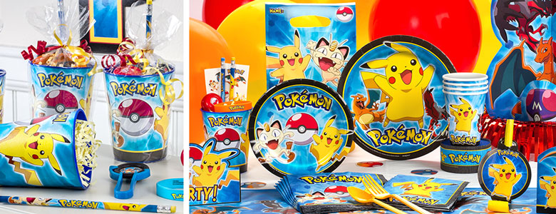Pokémon Party Supplies