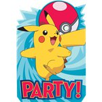 Pokémon Invites - Party Invitation Cards