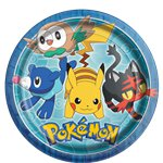 Pokémon Party Plates - 23cm Paper Party Plates