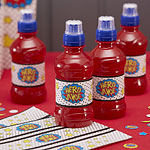 Pop Art Superhero Juice Labels