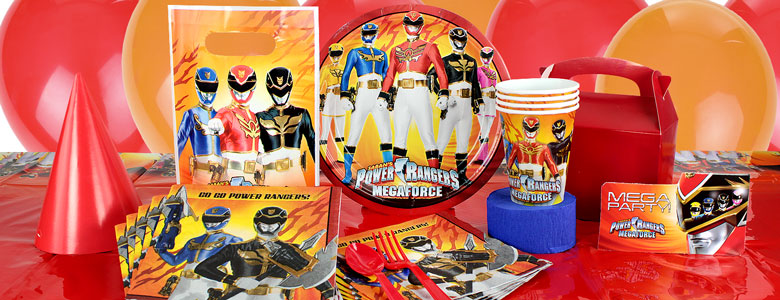 Power Rangers Party Supplies | Woodies Party