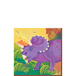Prehistoric Party Beverage Napkins 3ply