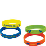 Prehistoric Party Rubber Bracelets