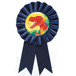 Prehistoric Party Award Ribbon
