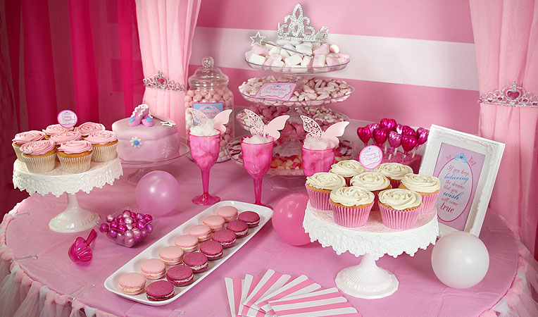 Princess Candy Buffet Party Ideas