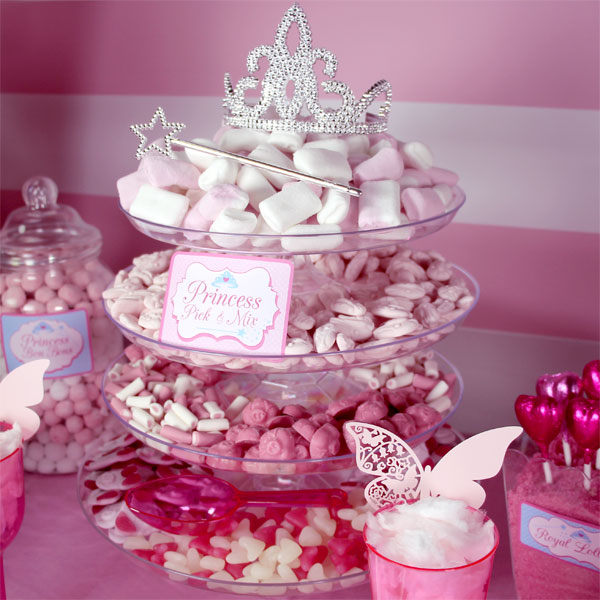 Pick N Mix Sweets Princess Candy Buffet Ideas Woodies Party