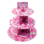 Prismatic Princess Cup Cake Stand - 3 Tier